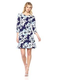 Eliza J Women's Floral Drop Waist Dress