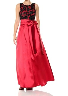 Eliza J Women's Lace Top Ballgown
