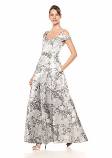 Eliza J Women's Off The Shoulder Fit and Flare Gown