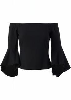 Eliza J Women's Separate Bell Sleeve Top