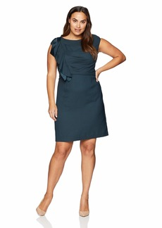 Eliza J Women's Size Cap Sleeve Sheath Dress