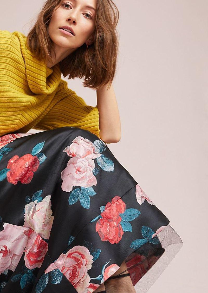 dd49d31f15192 SALE! Eliza J Floral Ball Gown Skirt