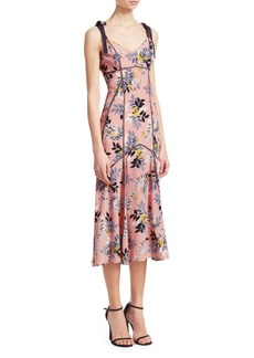 Elizabeth and James Ainsley Floral-Print Dress