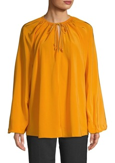 Elizabeth and James Chance Rope Tie Blouse