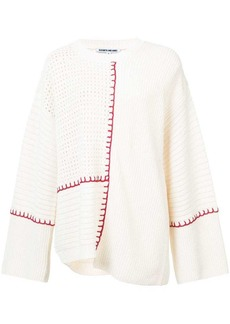 Elizabeth and James contrast long-sleeve sweater