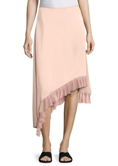 Elizabeth and James Ailie Asymmetric Ruffle Hem Skirt