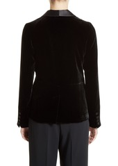 Elizabeth and James Ambrose Velvet Tuxedo Jacket