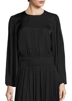 Elizabeth and James Ava Pleated Sleeve Top
