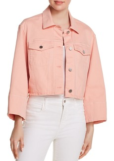 Elizabeth and James Branson Cropped Denim Jacket