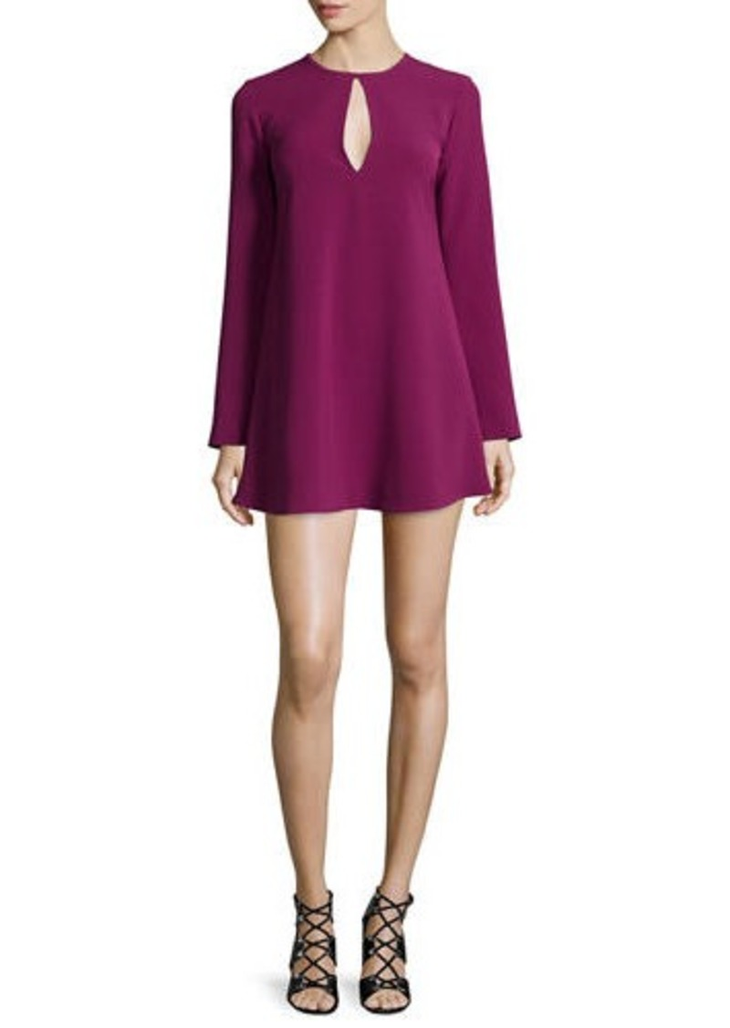 Elizabeth and James Brianna Long-Sleeve Mini Dress