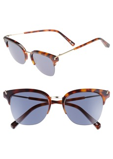 Elizabeth and James Burke 52mm Horn Rimmed Sunglasses