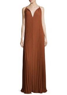 Elizabeth and James Cadence Sleeveless Pleated Maxi Dress