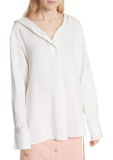 Elizabeth and James Carson Hooded Shirt