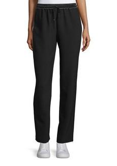 Elizabeth and James Collier Silk-Trim Track Pants