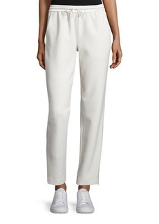 Elizabeth and James Collier Silk-Trim Track Pants