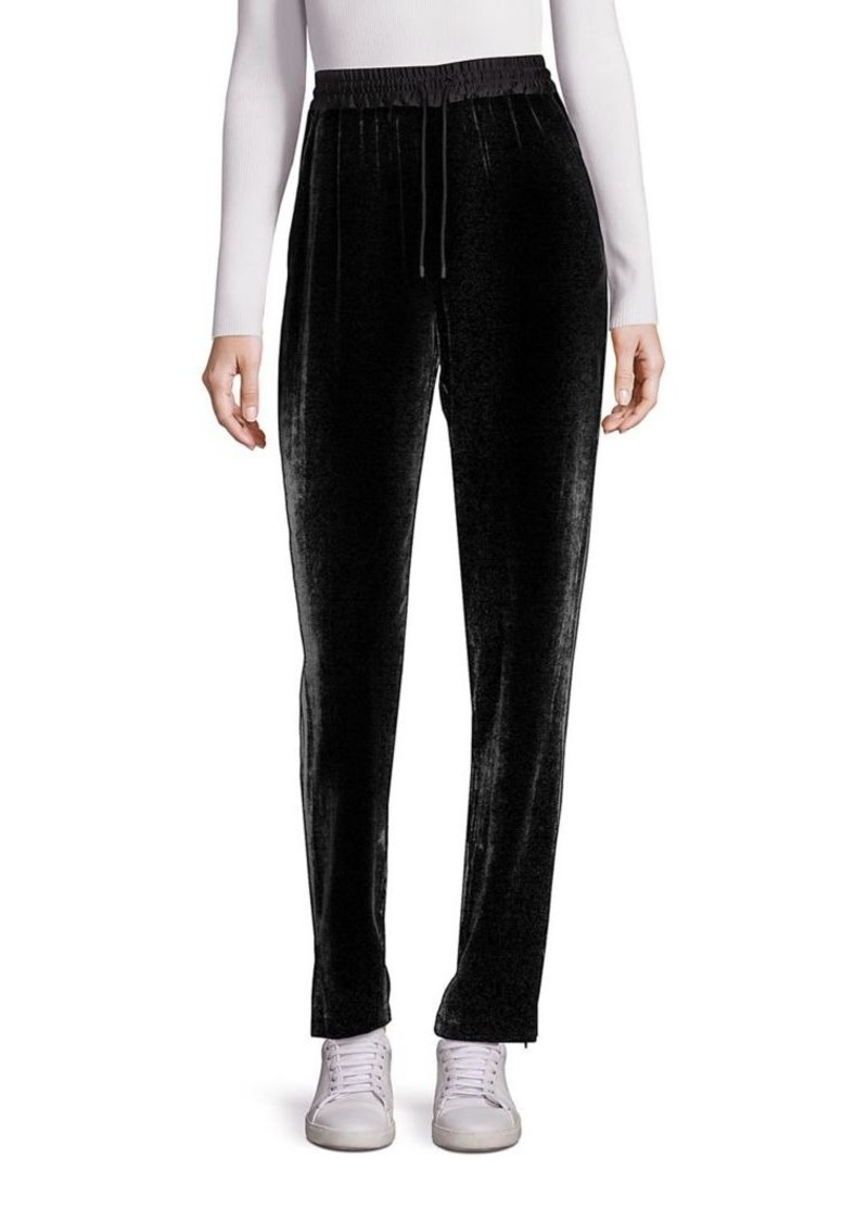 Elizabeth and James Collier Velvet Track Pants