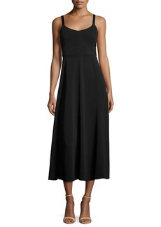 Elizabeth and James Cynthia Fit & Flare Sleeveless Cutout Dress
