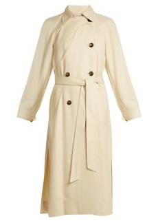 Elizabeth And James Dakotah double-breasted tie-waist trench coat