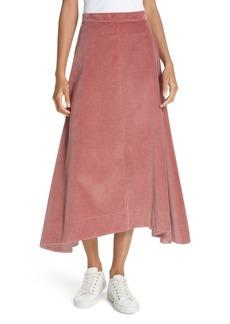 Elizabeth and James Danielle Corduroy Midi Skirt