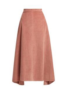 Elizabeth And James Danielle cotton-corduroy midi skirt
