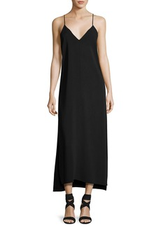 Elizabeth and James Dara V-Neck Sleeveless Slip-Style Dress