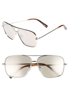 Elizabeth and James Deacon 61mm Aviator Sunglasses