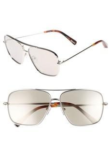 Elizabeth and James Deacon 61mm Aviator Sunglasses