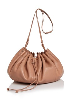 Elizabeth and James Dex Medium Nappa Leather Shoulder Bucket Bag