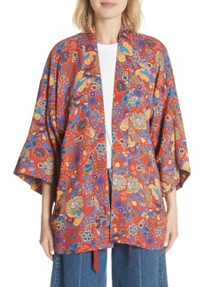 Elizabeth and James Drew Crop Sleeve Kimono