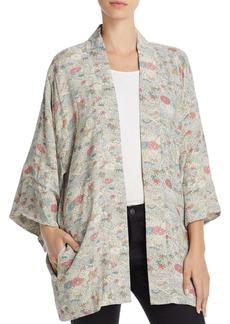 Elizabeth and James Drew Floral-Print Kimono