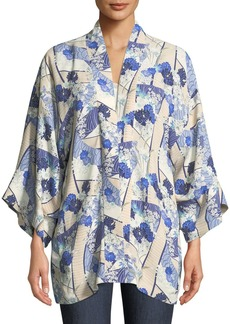 Elizabeth and James Drew Open-Front Kimono