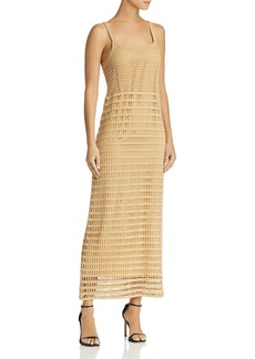 Elizabeth and James Edna Crochet Maxi Dress