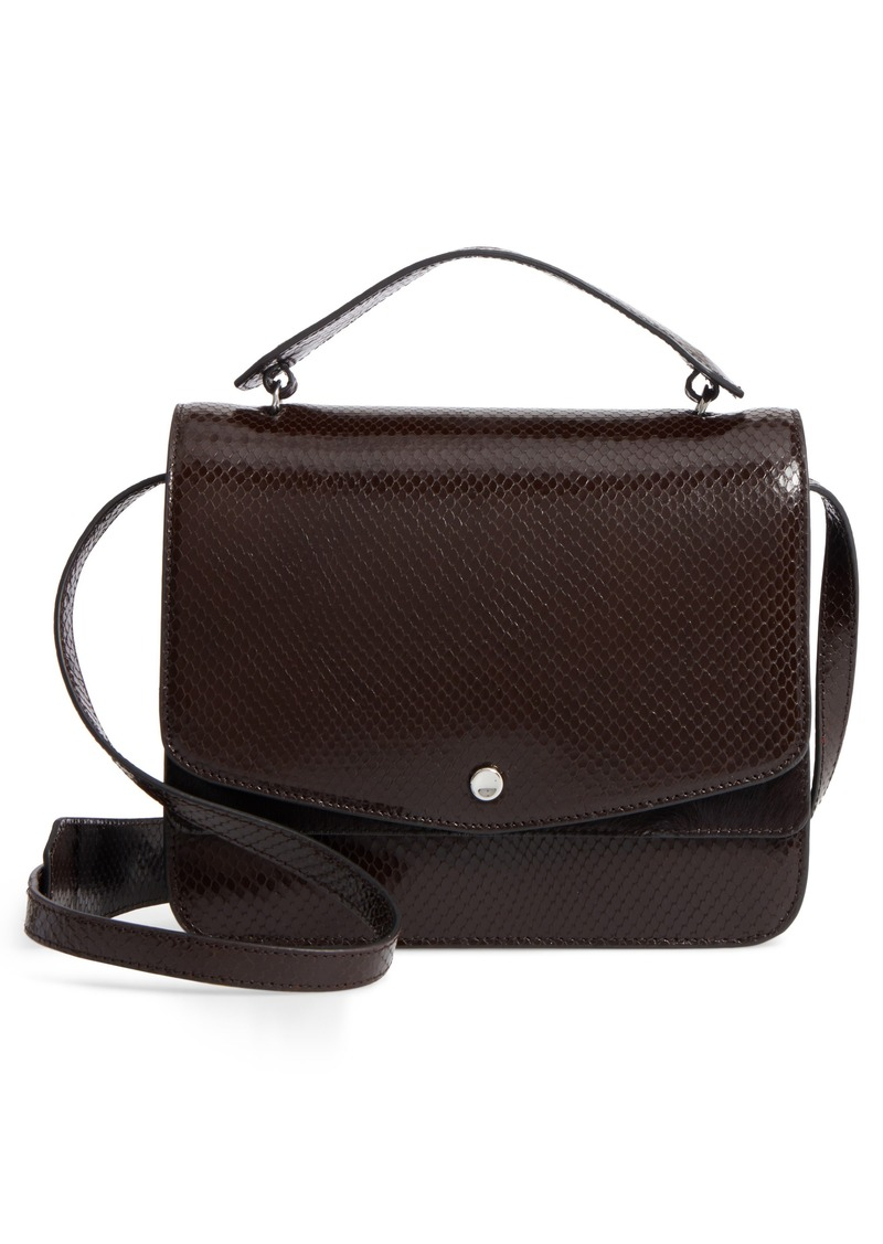 Elizabeth And James Eloise Genuine Calf Hair Leather Shoulder Bag