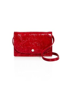 Elizabeth and James Eloise Mini Textured Leather Crossbody