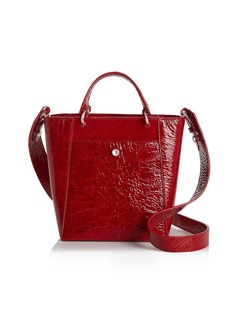 Elizabeth and James Eloise Petit Patent Leather Crossbody Tote