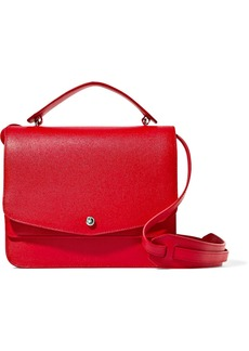 Elizabeth and James Eloise textured-leather shoulder bag