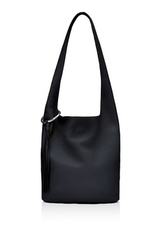 Elizabeth and James Finley Courier Pebbled Leather Hobo