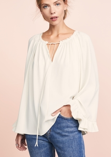 Elizabeth and James Fleur V Neck Top