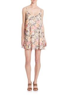 Elizabeth and James Floral Slip Dress