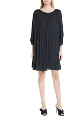 Elizabeth and James Florrie Pleated Shift Dress