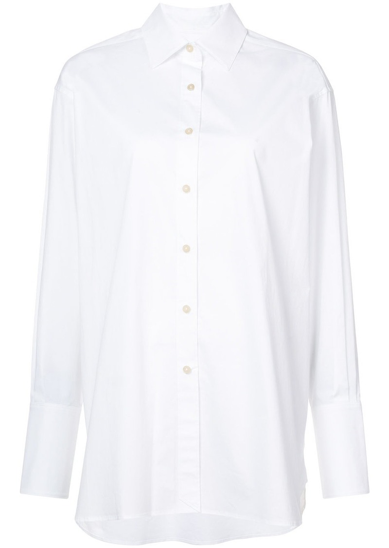 Elizabeth and James Francois high low hem shirt