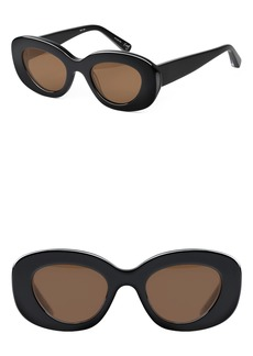 Elizabeth and James Fray 47mm Cat Eye Sunglasses