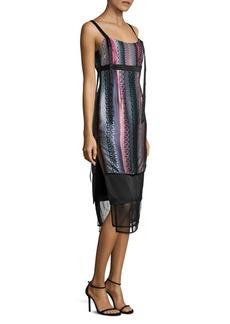 Elizabeth and James Gia Printed Silk Dress