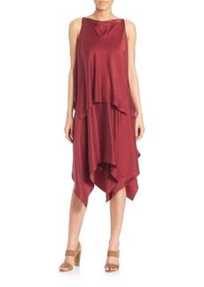 Elizabeth and James Greer Silk Ruffle Dress