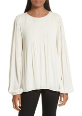 Elizabeth and James Grove Pleated Blouse