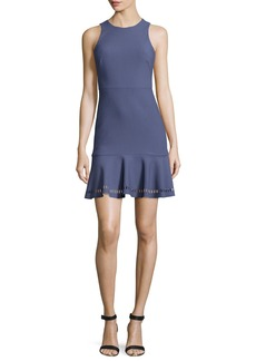 Elizabeth and James Hadley Fit-and-Flare Ponte Dress