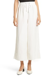 Elizabeth and James Halsey Silk & Linen Culottes