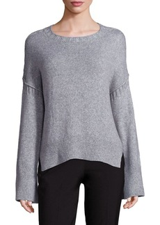 Elizabeth and James Harris A-Line Rib-Knit Sweater