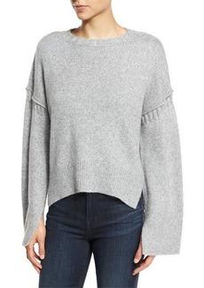 Elizabeth and James Harris Oversized Wool-Blend Sweater