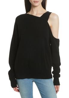 Elizabeth and James Hearst Cold Shoulder Merino Wool & Cashmere Sweater